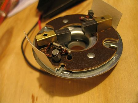 Bottom plate of the Permanent Magnet Motor