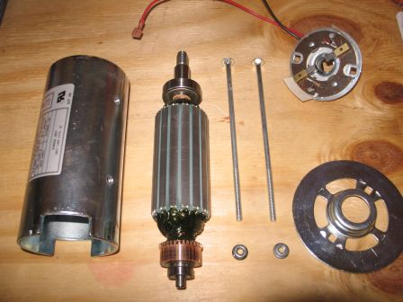 Main Parts of Permanent Magnet Motor